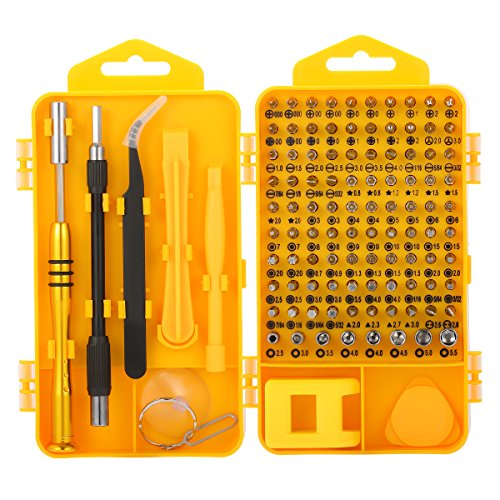 Mini Screwdriver Set, M. Way 108 Piece in 1 Precision Screwdriver Torx Phillips Repair Tool Kit Precision Mechanics for PC Laptop Smartphone and other Electronic Products