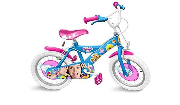 Stamp soy Luna Bicicleta niña, Azul: Amazon.es: Deportes y aire libre