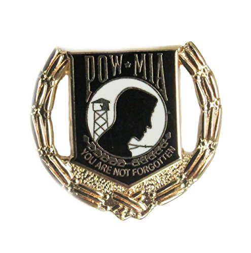 - POW/MIA Wreath (black) Hat or Lapel Pin H15781D94