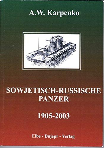Sowjetisch Russische Panzer 1905 2003