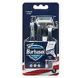 #8: Barbasol Premium Disposable Ultra 3 Razor, 4 Count