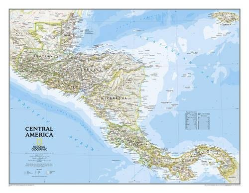 Central America Classic (National Geographic Reference Map) (Central Maps)