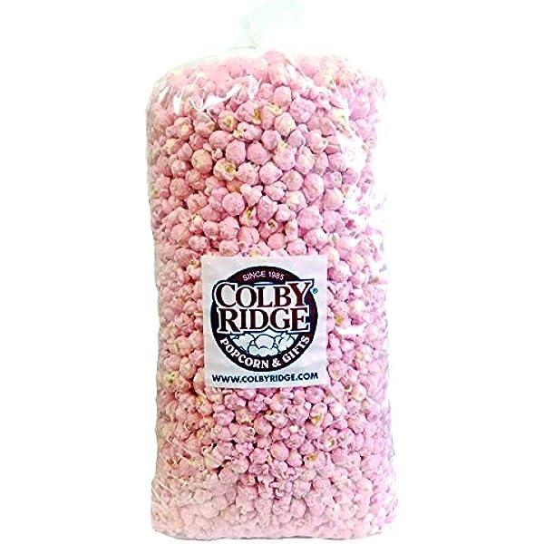 Ready Made Popcorn HALF KILO VANILLA PINK SWEET Popcorn Bags Empire Popcorn