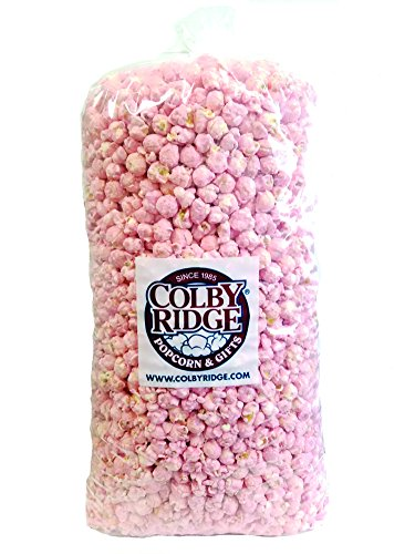 Baby Pink Popped Popcorn 91 oz. (Bulk 5 gal, 80 Cups) ()