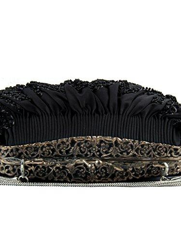 MyBatua Ethel Handtaschen -Qualitäts-handgemachte Partei-Abnutzungs-Beutel-ACB-923