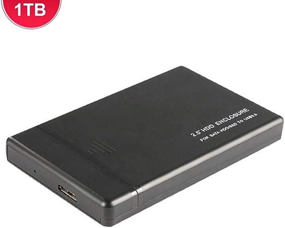 Yunt-es Unidad de Disco Duro Externa de Disco Duro Externo de Alta Velocidad de 2,5 Pulgadas de expansión de 500 GB / 1 TB / 2 TB portátil para PC, Xbox One: Amazon.es: Hogar
