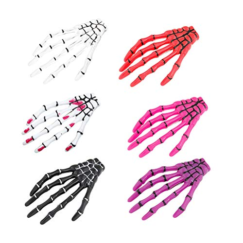 Beaupretty Skeleton Hair Clip Hair Barrettes Hair Accessories