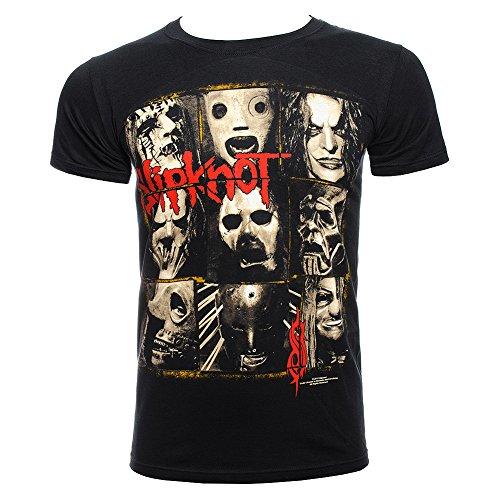 Slipknot Mezzotint Shirt Men's T-Shirt, Black, -