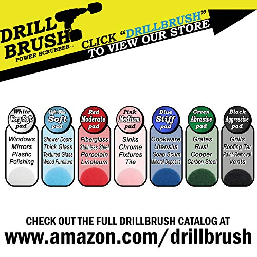 Bathroom Cleaning Supplies Drill Brush Power Scrubber
