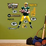 NFL Green Bay Packers Aaron Rodgers Fathead Wall Decal, Junior