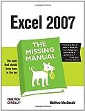 Excel 2007, MacDonald, Matthew, 0596527594