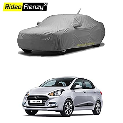 Rideofrenzy Hyundai Xcent Car Body Cover With Antenna Amazon In