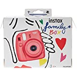 Fujifilm Instax family Box & son family tree  dessiné par Jean-Charles de Castelbajac
