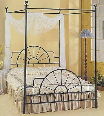 ron Sunburst Canopy Bed ()
