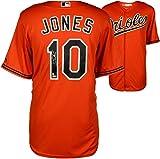 Adam Jones Baltimore Orioles Autographed Majestic Replica Orange Jersey - Fanatics Authentic Certified