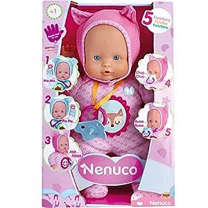 Comprar Nenuco de Famosa - 700014781 Muñeco Blandito 5 funciones - Regalos Babyshower - Tienda Online - Envíos Baratos o Gratis