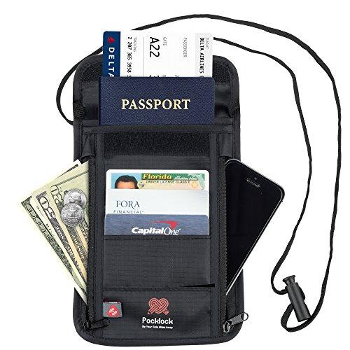 Pocklock Passport Document Holder Blocking product image