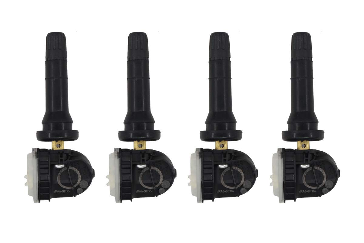 NewYall Pack of 4 Black 315MHz TPMS Tire Pressure Monitoring Sensors F2GT-lAl80-AB