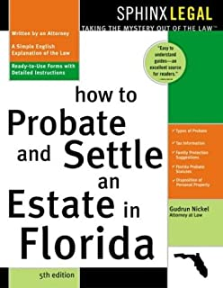 Probate and settle an estate in florida legal survival guides how to probate and settle an estate in florida 5e probate solutioingenieria Choice Image