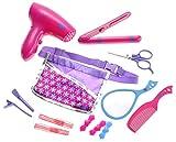 girl blow dryer - PowerTRC Hair Stylist Boutique Beauty Salon Fashion Pretend Play Set