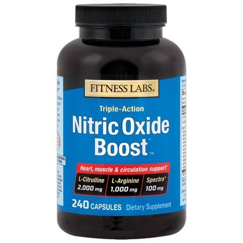 Fitness Labs Nitric Oxide Boost™, with L-Citrulline, L-Arginine and Spectra™, 240 Capsules, 60 ()