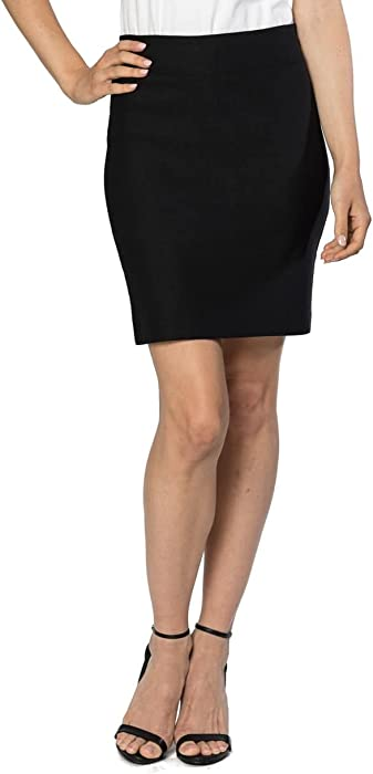 Velucci Womens Stretchable Mini Pencil Skirt Above The Knee 19