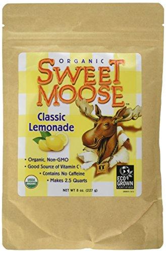 FunFresh Foods Organic Sweet Moose Classic Lemonade Energy Strips, 2 Count (Sweet Moose)