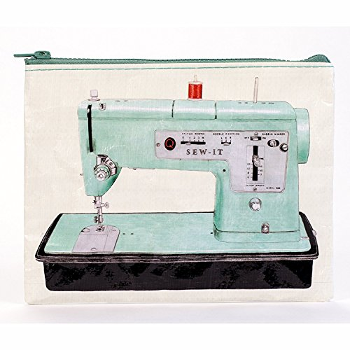 Machine Am Cosmetics - Blue Q Sew It Zipper Pouch, 1 Each