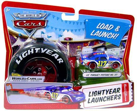Disney   Pixar Cars Movie 1 55 Die Cast Car Lightyear Launchers Lil' Torquey Pistons