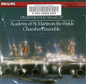 Mozart-Divertimentos: Academy Chamber Ensemble, the