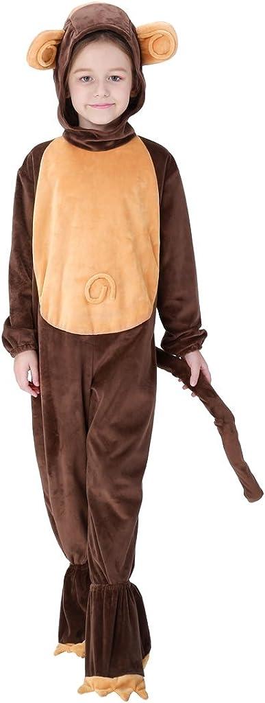 Meeyou Monkey Costume for Boys & Girls Cosplay