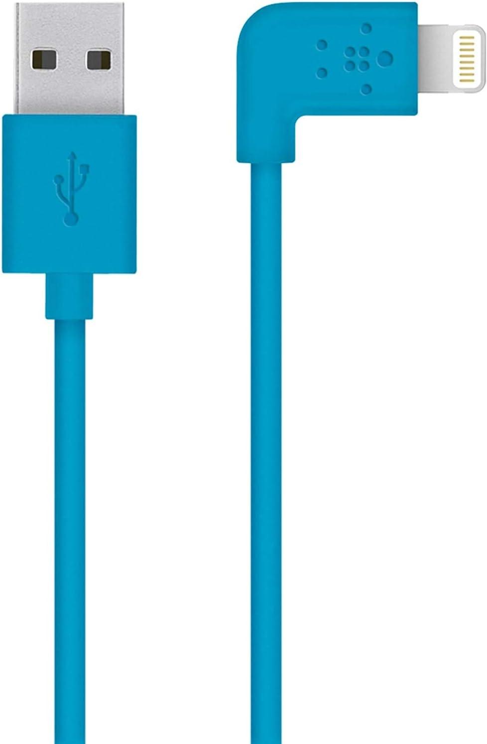 Belkin Mixit 90 Abgewinkeltes Lightning Lade Sync Kabel 1 2 M Geeignet Für Iphone 8 8