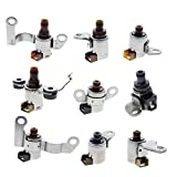 Goodeal 9 pc JF506E 09A Transmission Solenoid Kit For VW Jetta Land Rover Freelander