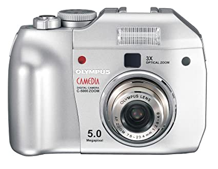 amazon com olympus c 5000 5mp digital camera w 3x optical zoom rh amazon com Olympus Camedia 3.2 Olympus Camedia Digital Camera
