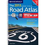 Rand Mcnally Large Scale Road Atlas: United States, Rand McNally and Company, 0528006282