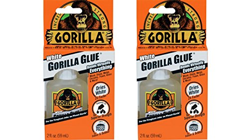 Gorilla 5201204-2 White Glue (2 Pack), 2 oz, White