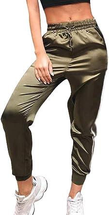 Débardeur Vert Tie Dye SLIM LEG taille haute de détente de survêtement