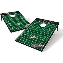 Wild Sports NCAA 2' x 3' Football Field Cornhole Bag Toss Game