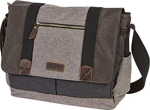 Troop London Urban Padded Computer Messenger Bag Fits 15 Inch Laptop TRP0386 (London Troop)