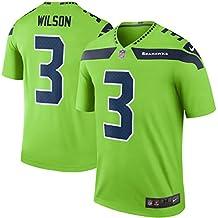 Russell Wilson Seattle Seahawks Color Rush Neon Green Nike Legend Dri-FIT Jersey - Men's 2XL (XXL)