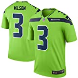 Russell Wilson Seattle Seahawks Color Rush Neon Green Nike Legend Dri-FIT Jersey - Men's Medium