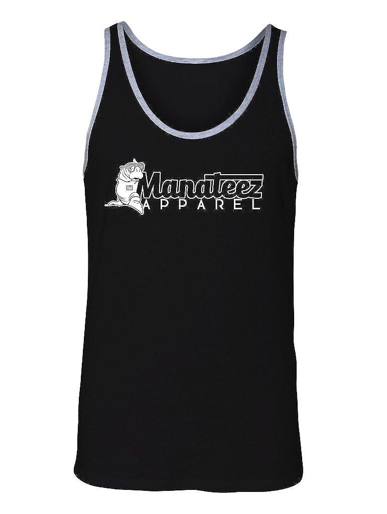 Manateez Mens Apparel Brand Logo Tank Top