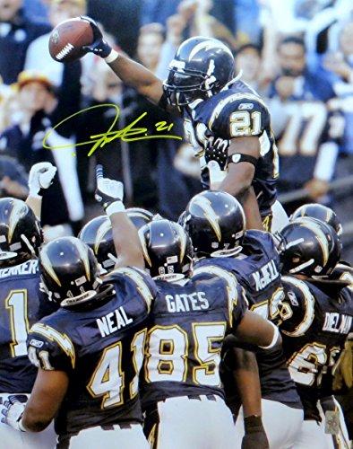 LaDainian Tomlinson Signed Autographed 16X20 Photo Chargers Celebration w/COA