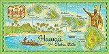 Island Home Hawaii Style Beach Towel Aloha State 30'' x 60''