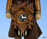 German Christmas Nutcracker Blackforest Clockmaker natural colors - 41,5 cm / 16 inch - Christian Ulbricht