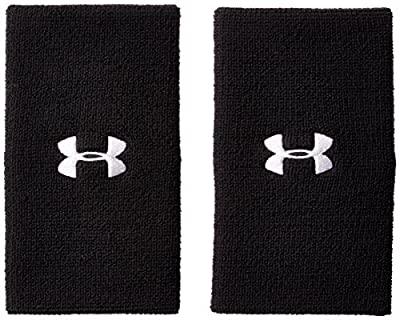 """Under Armour 6"""" Performance Wristband 2-Pack"""