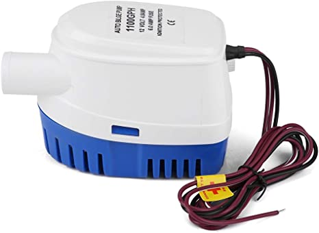 12V 750GPH Submersible Boat Bilge Water Pump Auto with Float Switch Rustproof