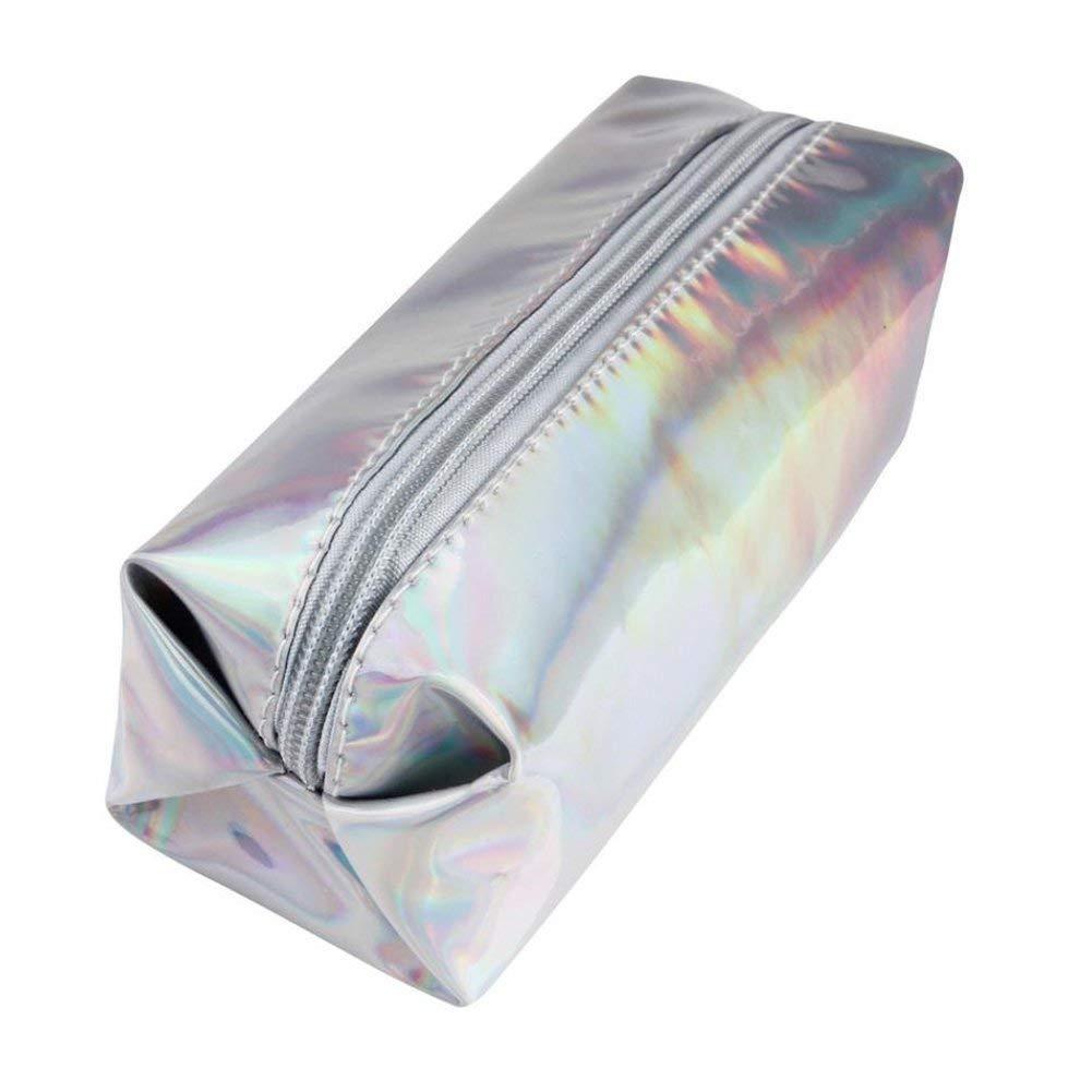 Aipark - Juego de 3 estuches holográficos para lápices ...