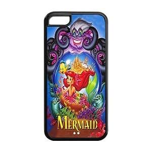 CreateDesigned The Little Mermaid Disney Princess Ariel Case Cover for iPhone 5C (Cheap iPhone 5) SKU-I5CCD00162