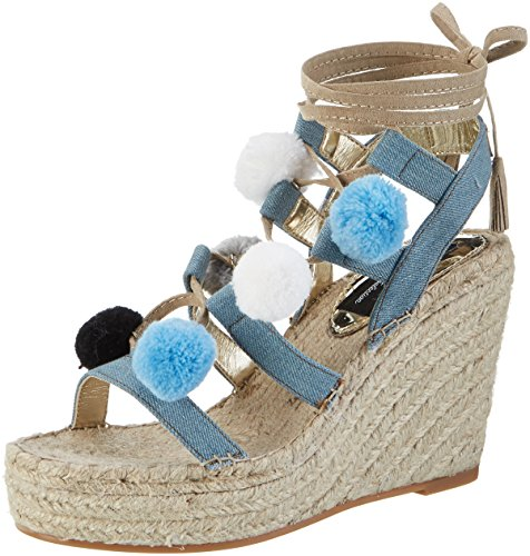 REPLAY Bresa - Tira de tobillo Mujer Blau (Lt Blue)